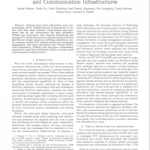 Communication Infrastructures for Microgrids