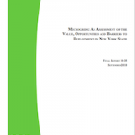 Microgrid Policy in New York