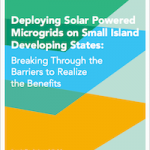 Solar Powered Microgrids on Small Islands